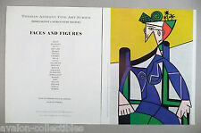 Roy Lichtenstein, etc Art Gallery Exhibit PRINT AD -1989 ~Woman Sitting On Chair