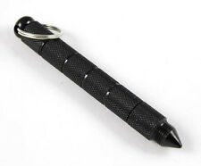 ALU Black KUBOTAN survival/self defense/outdoor tool with keyring/porte clé