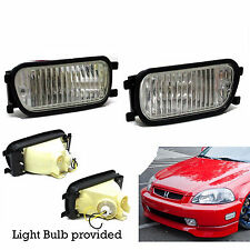 Front Bumper Intersection Fog Lights Lamp - Honda Civic Integra Accord Prelude