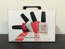 Brand New CND SHELLAC CHIC TRIAL Kit 2016 Gel Polish Intro Kit