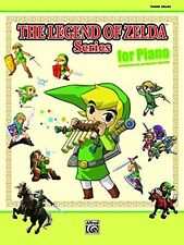 The Legend of Zelda Series for Piano: Piano Solos Sheet Music Book