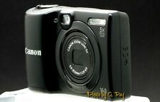 CANON PowerShot A1300 BLACK-RECONDITIONED DIGITAL CAMERA-VIEW FINDER/AA BATT