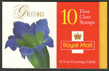 KX9 / DB13(10) Cyl W1 W1 W2 W1 W1 W2 1997 Flowers Greetings Booklet