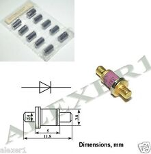 1x  3A607A USSR Military GaAs Multiplier diode 15 -100GHz  1W