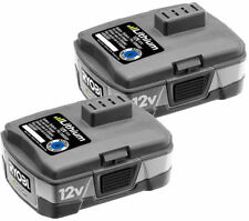 Ryobi 12-Volt Lithium-Ion Rechargeable Battery ***** 2 Pack ***** Model CB120L