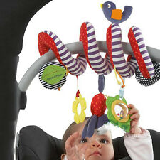 Hanging Spiral Activity-Stroller Pushchair Car Seat Cot Babyplay Travel Toys ES