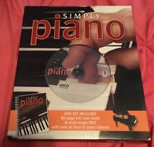 Simply Piano Box Set, Book & DVD Piano Keyboard Lessons Robyn Payne