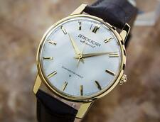 Rare Men's Vintage Seiko Crown Special Diashock Solid 18K Gold Watch c1960 EB152