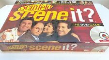 NEW SCENE IT? SEINFELD The DVD Board Game COMPLETE 2008 MATTEL ADULT Sealed