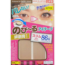 [DAISO] Double Fold Eyelid Adhesive Tape Sticker (No355 Slim) Made in Japan
