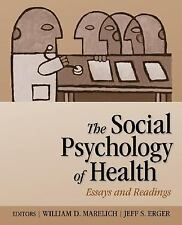 The Social Psychology of Health: Essays and Readings, , Good Book