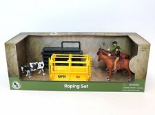 Big Country Farm Model Horse PRCA RODEO Roper Set 428 NEW 1:20 Scale