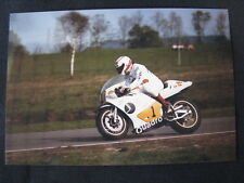Photo Jan Oudbier Suzuki RGB500 1985 #1 Rob Punt (NED) #1