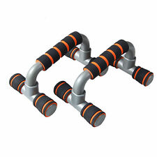 Set of 2 Push Up Stand Pull Bar Handles Pushup Exercise Home Gym Workout Fitness
