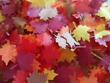 1000 Autumn/Fall Tissue Maple Leaves Wedding/Party/ Confetti/Decoration