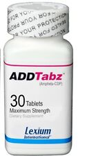 FREE 2-3 DAY SHIPPING ADDTabz 422mg(30 Count)Lexium UPDATED new IMPROVED Addtabz