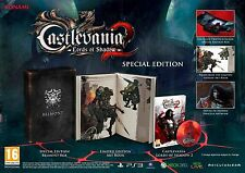 NEW&SEALED Castlevania 2 Lords Of Shadow Belmont Special Collector's Edition PS3