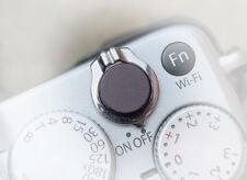 Pro Quality Shutter Button Soft Release Metal Black Flat Fuji X100 XE2 XPro1 XT2