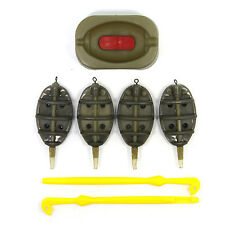 Carp Fishing Inline Method Feeders and Mould set and Loop Tyer Hook Detacher