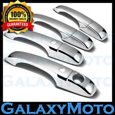 11-12 DODGE CALIBER+AVENGER+JOURNEY Chrome 4 Door Handle+Smart Hole Cover