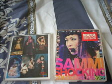 a941981 鄭秀文 Sammi Cheng Triple 3 VCD Shocking Colours Live