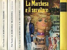 Brigitte Von Tessin = 3 VOLL. OPERA COMPLETA LA MARCHESA