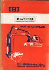 IHI EXCAVATOR IS-10G PARTS MANUAL - IS10G