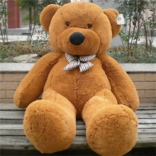 Huge 100 cm Teddy Bear Lovers Brown Bear Plush toys Quality Girl New Year Gift