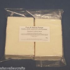 100% Rapeseed Container Wax 1kg - Suitable For Candles In Glass Jars & Tins