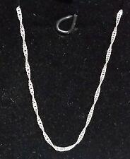 Cadena para mujer o niña  de 45 cms finita  en plata de Ley 925 mls