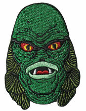 Authentic UNIVERSAL MONSTERS Creature Head Embroidered Sew On Glue On Patch NEW
