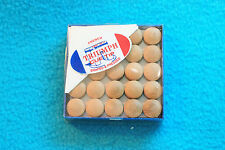 50 TRIUMPH CUE TIPS 14mm - SHAPED & PRESSED