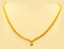 "18k gold necklace from singapore (18"") #71"