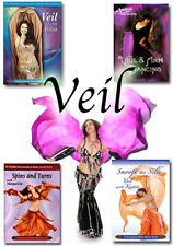 Veil Mastery DVD Set - How to Dance with a Veil - Belly Dance Video