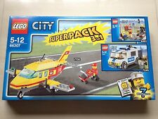 EMPTY BOX LEGO 66307 CITY 3 IN 1 SUPER PACK 7732 8401 7245