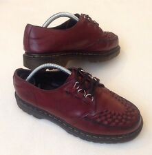 Mens Dr Martens Ramsey Creeper Ox Blood Shoes UK 7 RARE UNISEX SKA ROCKER BILLY