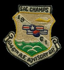 USAF 6164th AF Advisory Group 1961 SAC Champs Patch RP-1