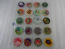 Lot of 40 Assorted Pogs In Plastic Pog Sheet