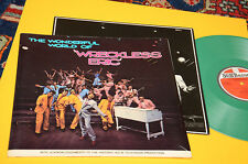 WRECKLESS ERIC LP WONDERFUL WORLD 1°ST ORIG 1978 EX+ GREEN VINYL LAMINATED COVER