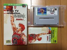 From TV Animation Slam Dunk Yonkyou Gekitotsu!! Super Famicom Japan NTSC-J boxed