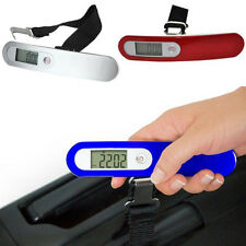 50kg/10g Electronic Portable LCD Digital Luggage Scale Travel Hanging Weight