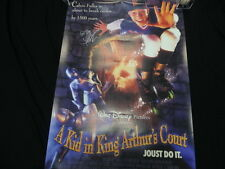 Thomas Ian Nicholas Signed A Kid In King Arthur's Court Poster PSA/DNA AB76589