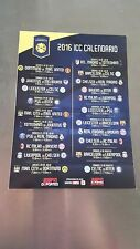 Flyer FC Bayern München International Champions Cup ICC USA Tour 2016 FCB