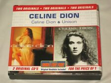 CELINE DION - 2 CD SET - DOUBLE NICE PRICE - FAT BOX