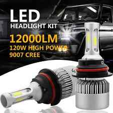 CREE COB 9007 HB5 120W 12000LM LED Headlight Kit Hi/Lo Power Bulbs 6500K White