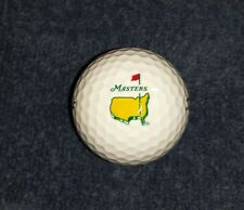 2016 Masters Tournament Augusta National Golf Club PGA Logo Golf Balls