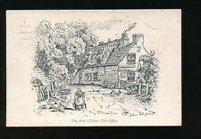 Gloucestershire CLIFTON First Post Office from old print 1903 U/b PPC