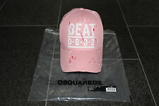 DSQUARED2 S/S 2015 *ROSA* BEAT DSQ2 BB HAT Hut Cap distressed PUMP UP THE VOLUME