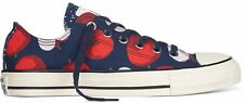 New Chuck Taylor Apple Print Ladies Womens Girls Converse Ox Trainers Shoes Size