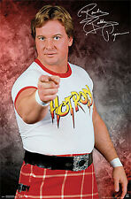 ROWDY RODDY PIPER Classic 1980s Signature Commemorative WWE WWF Wrestling POSTER